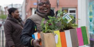 Voorjaarsmarkt I gezellig en druk bezocht