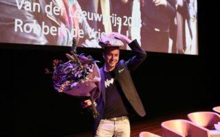 Robbert de Vrieze wint Van der Leeuwprijs